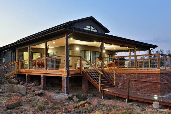 Home Eco Log Homes